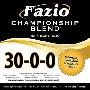 Fazio Championship Blend offers collection of nutritional products